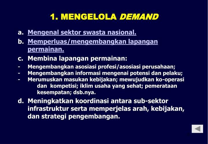 1. MENGELOLA