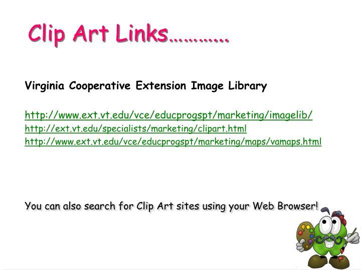 Clip Art Links………...