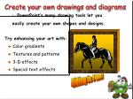 create your own drawings and diagrams