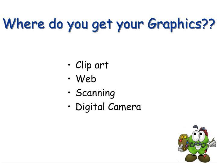 Where do you get your Graphics??