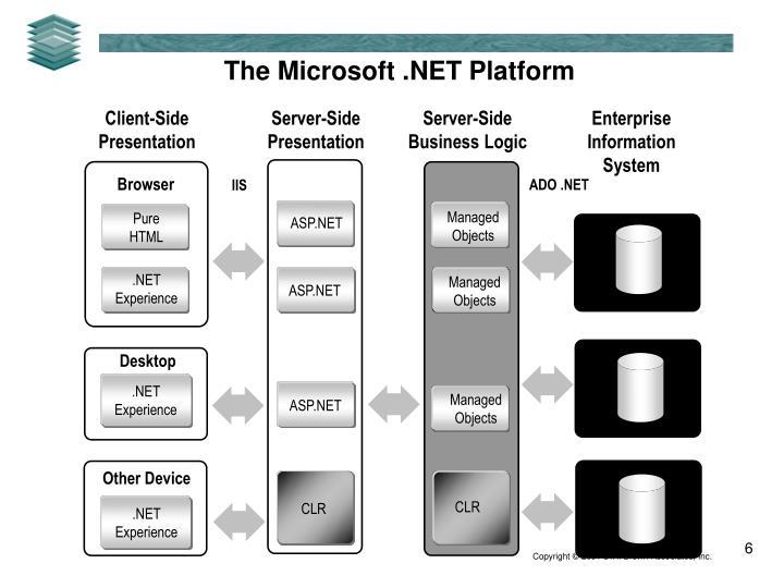 The Microsoft .NET Platform