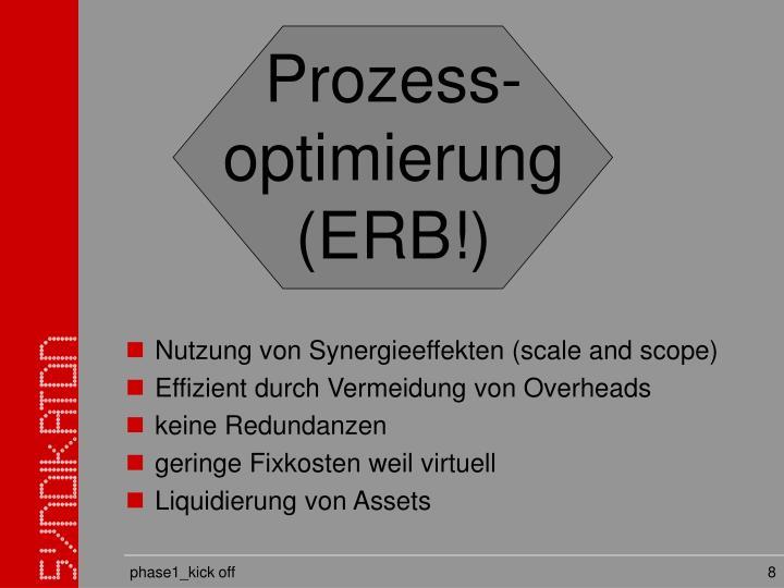 Prozess-optimierung (ERB!)