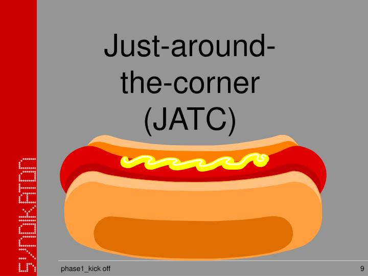 Just-around-the-corner (JATC)