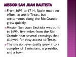mission san juan bautista