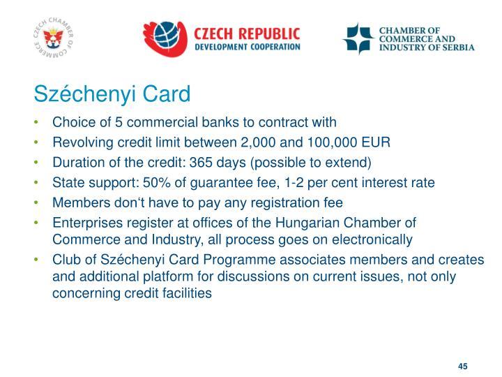 Széchenyi Card
