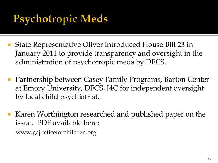 Psychotropic Meds