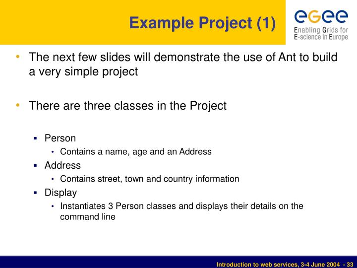 Example Project (1)