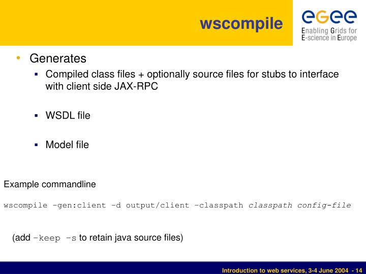 wscompile