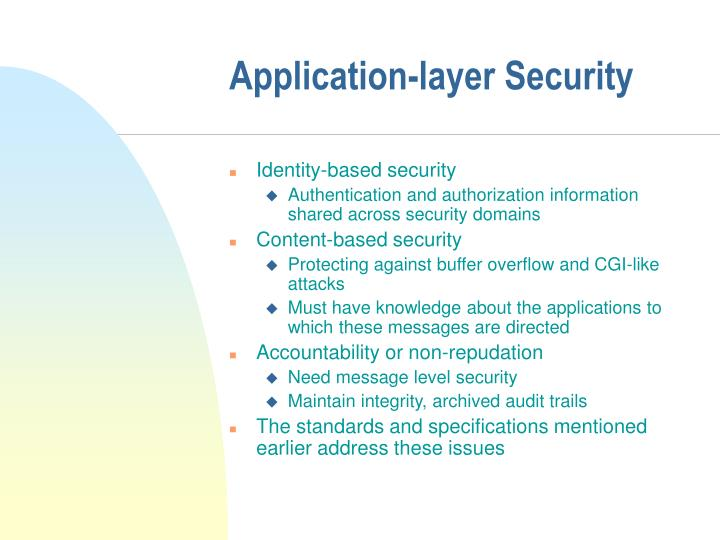 Application-layer Security