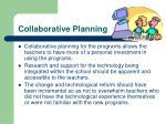 collaborative planning
