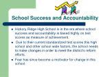 school success and accountability