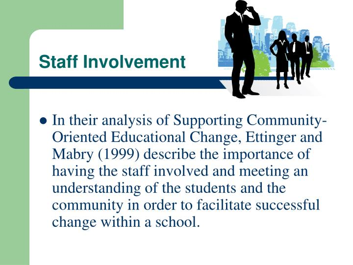 Staff Involvement