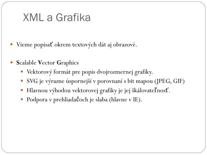 XML a Grafika