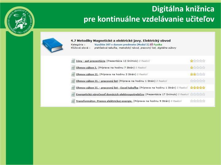 Digitálna knižnica