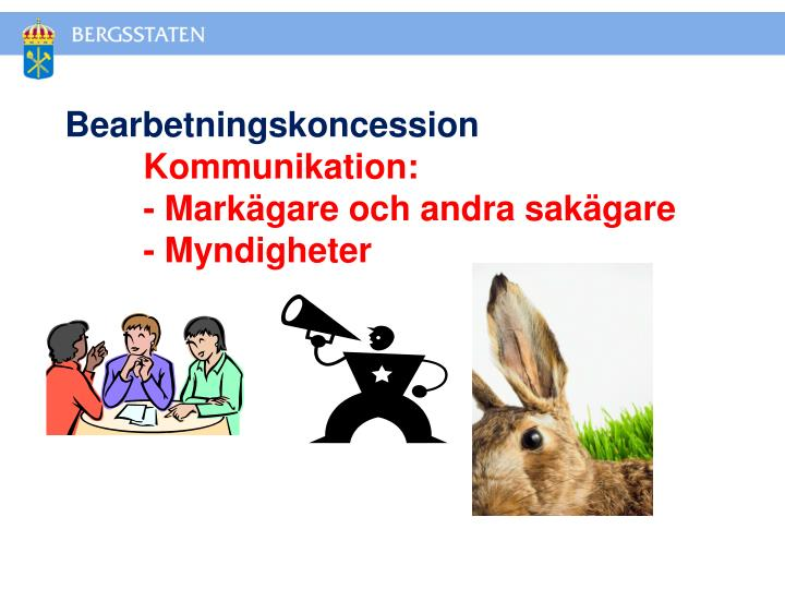 Bearbetningskoncession