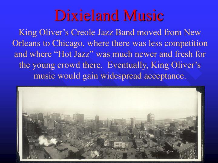 Dixieland Music
