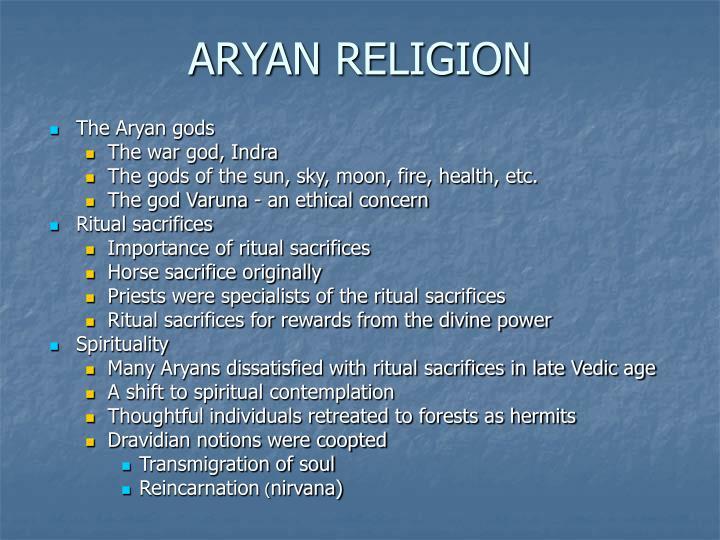 ARYAN RELIGION