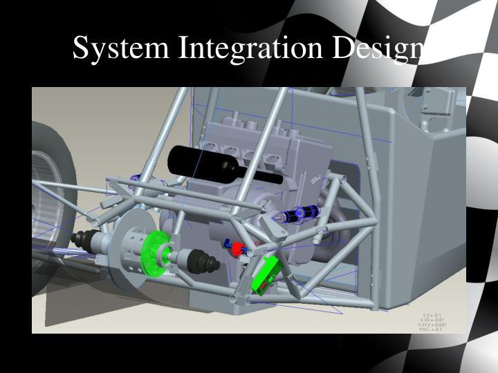 System Integration Design