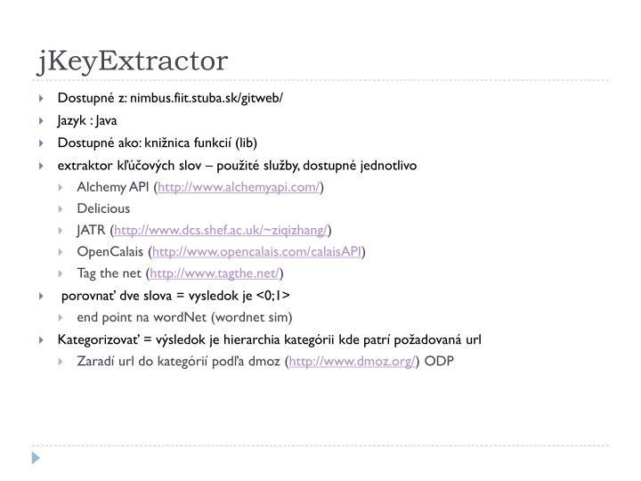 jKeyExtractor