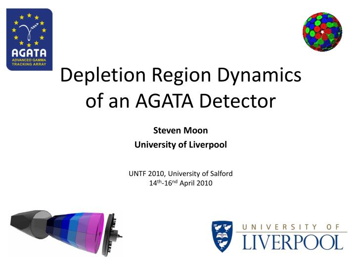 Depletion region dynamics of an agata detector
