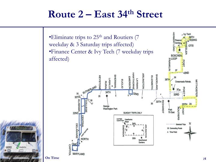 Route 2 – East 34
