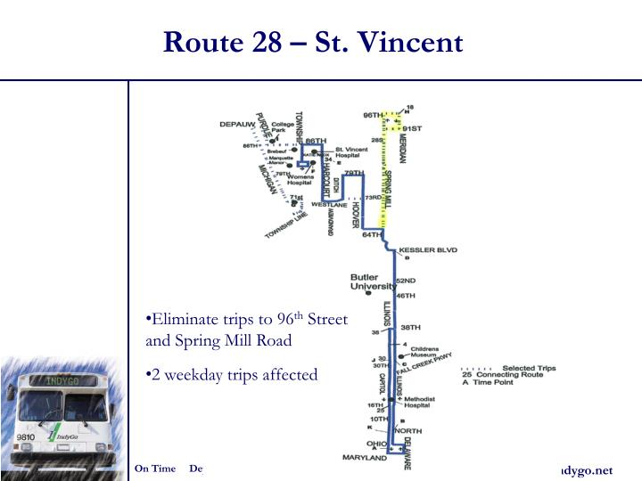 Route 28 – St. Vincent