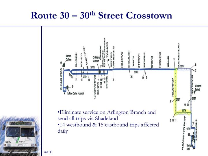Route 30 – 30