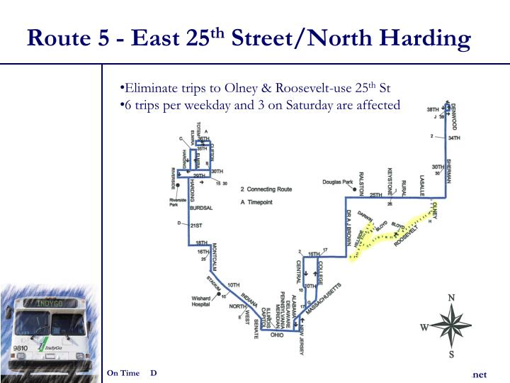 Route 5 - East 25