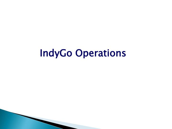 IndyGo Operations