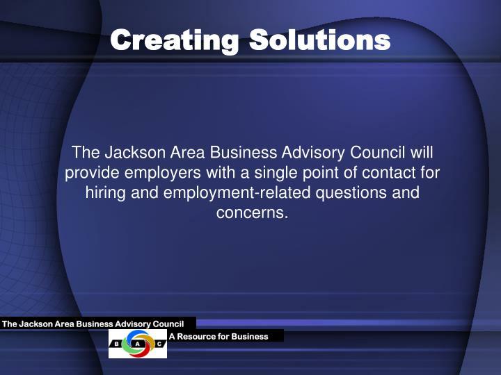 The Jackson Area Business Advisory Council