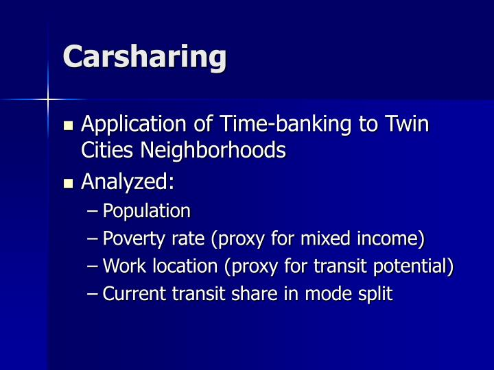 Carsharing