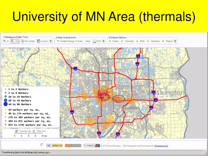 University of MN Area (thermals)