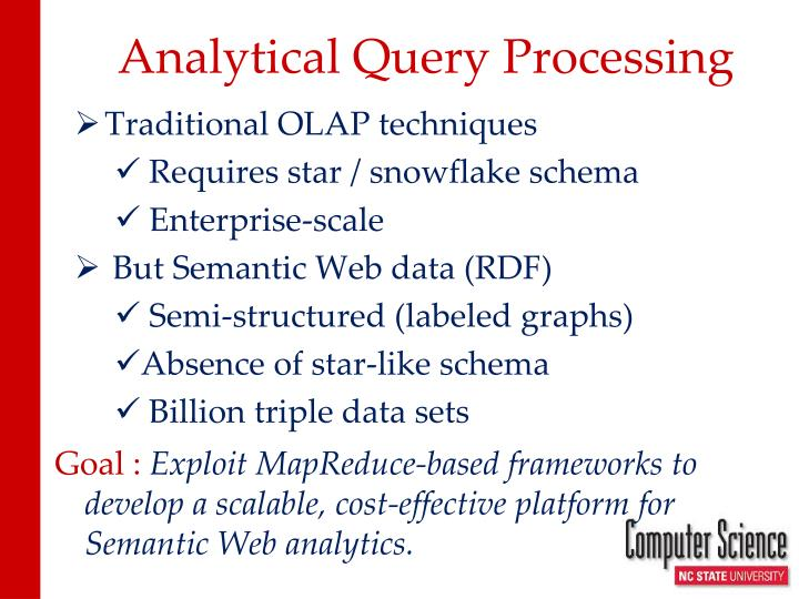 Analytical Query Processing