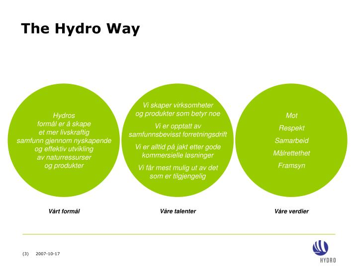 The hydro way1