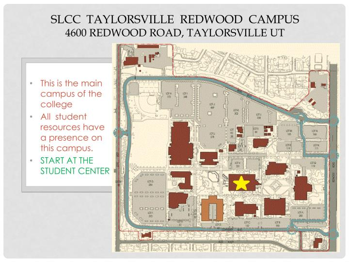 SLCC  Taylorsville  Redwood  Campus
