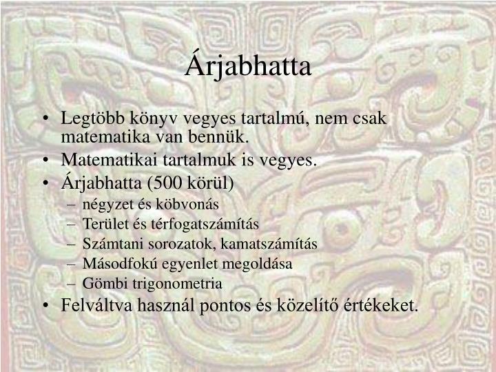 Árjabhatta