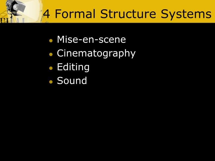 4 Formal Structure Systems