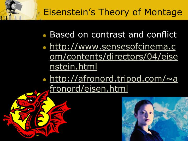 Eisenstein's Theory of Montage
