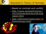 eisenstein s theory of montage