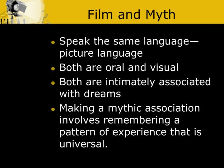 Film and Myth