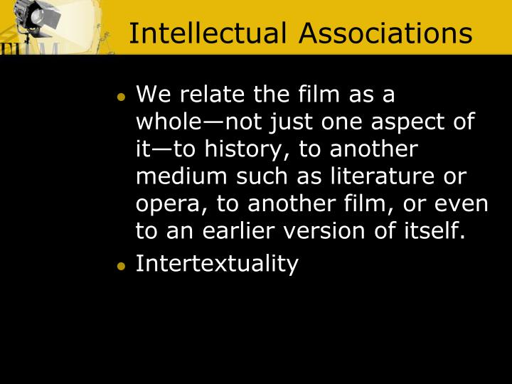 Intellectual Associations