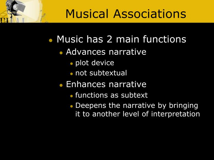 Musical Associations