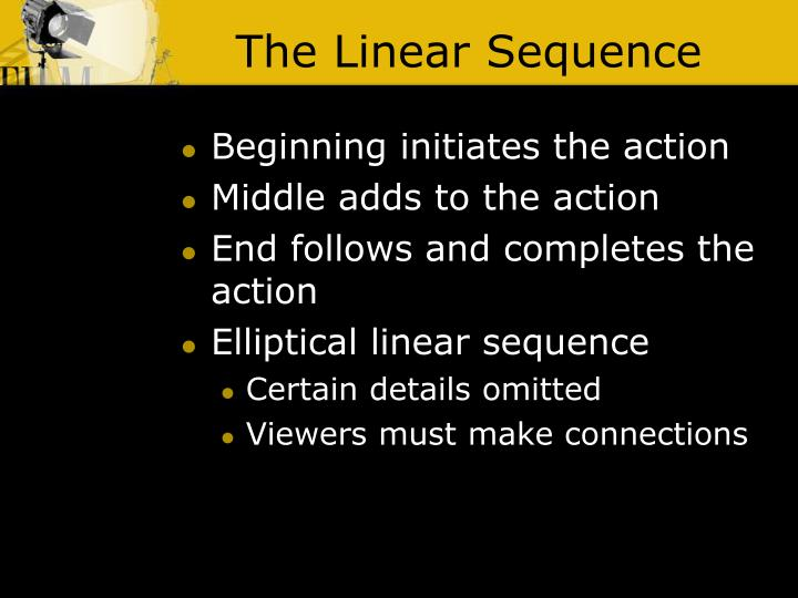 The Linear Sequence