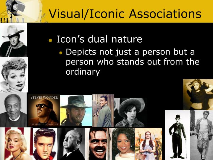 Visual/Iconic Associations