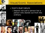visual iconic associations