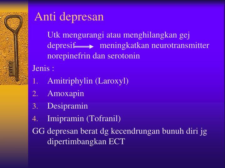 Anti depresan