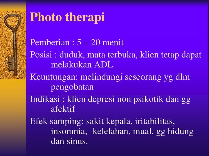Photo therapi