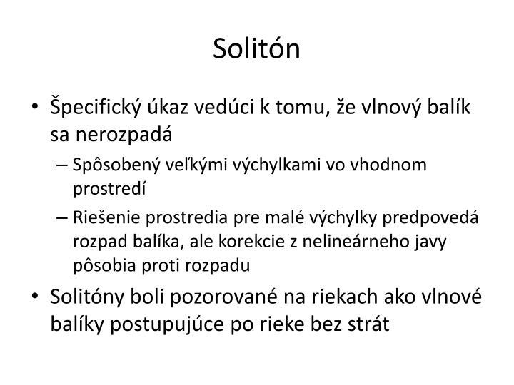 Solitón