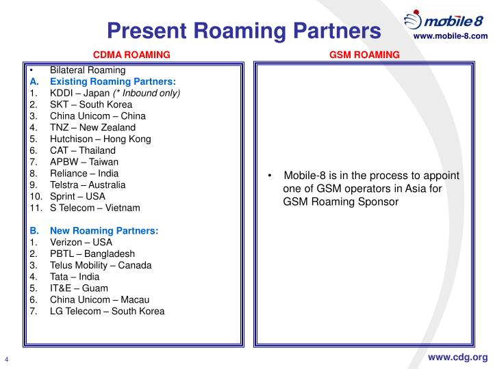 Bilateral Roaming
