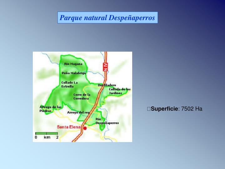 Parque natural Despeñaperros
